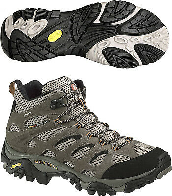 Merrell Moab Mid GTX Mens Walking Boots - Brown