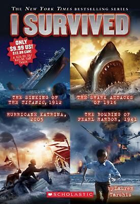 I Survived Collection: Books 1-4 by Lauren Tarshis (English) Paperback Book Free