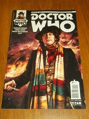 Doctor Who #1 Fourth Doctor Titan Comics Cover A April 2016