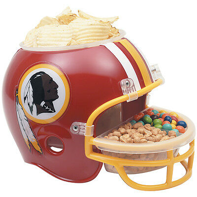 NEW NFL Snack Helmet Washington Redskins Serving Bowl Tailgating Football Party