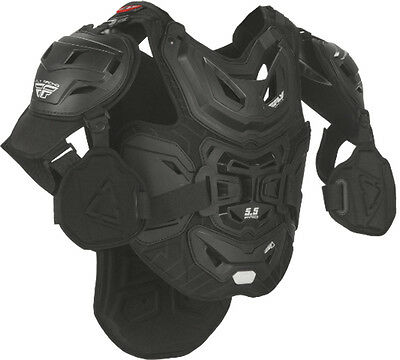 Leatt/Fly Racing 5.5 Pro Chest Protector - Black - Adult Sizes