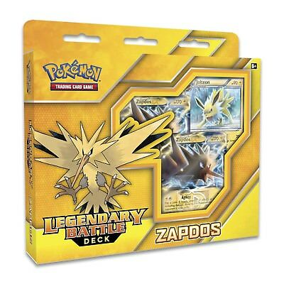 Pokemon TCG: Legendary Battle Decks :: Zapdos :: Brand New And Sealed Box!