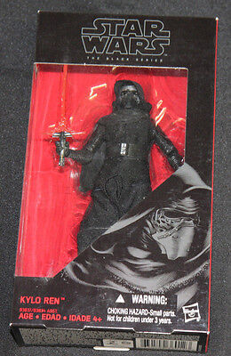 2015 Star Wars Force Awakens Kylo Ren Action Figure Black Series -MOC
