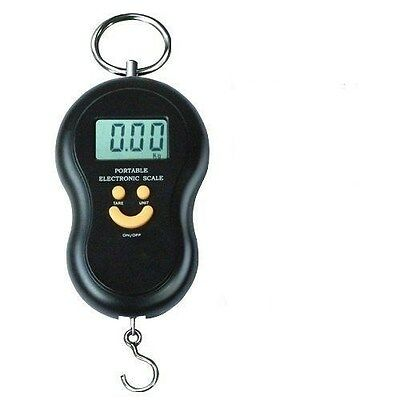 Digital Weighing Hanging Scales for Fishing Travel Holiday Luggage 40Kg Compact