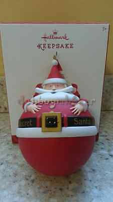 Hallmark 2014 Secret Santa Ball Christmas Ornament