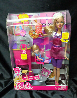 New in Box  - I Can Be....Barbie - Pizza Chef - 2009