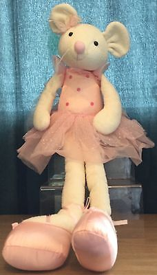 Angelina Ballerina Large 25 Inch Soft / Plush Toy By Lucy Locket