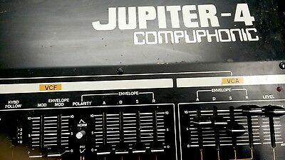 ROLAND JUPITER 4 COMPUPHONIC  good condition VINTAGE SYNT