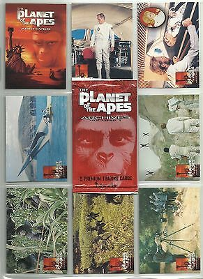 """1999 Planet of the Apes Archives """"Complete Base Set"""" of 90 Cards (1-90) WRAPPER"""