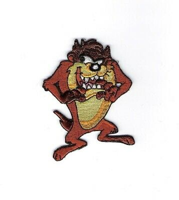 Looney Tunes Tazmanian Devil TAZ Figure Embroidered Patch, NEW UNUSED