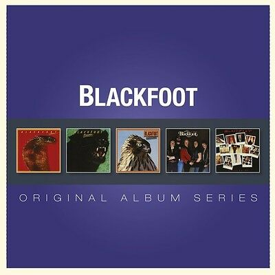 Blackfoot - Original Album Series [New CD] Holland - Import