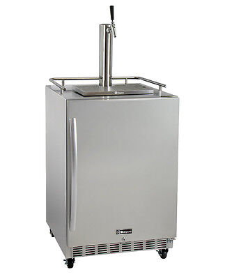 Kegco HK38SSC-1 Commercial Outdoor Built-In Kegerator w/ X-CLUSIVE Dispense Kit