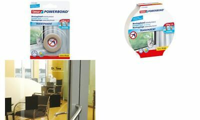 tesa Powerbond Montageband, transparent, 19 mm x 5,0 m