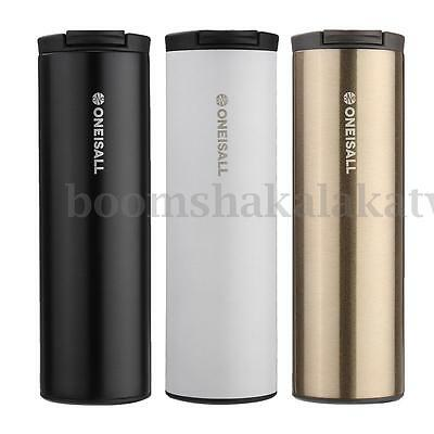 304 Stainless Steel Coffee Mug Travel Tumbler Bottle Cup 500ml Hot & Cold