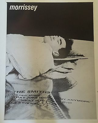 Morrissey - The Smiths The Joke Isn't Funny Anymore Poster 25 X 19