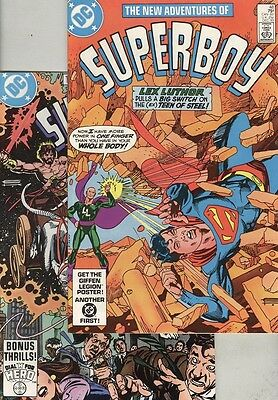 New Adventures of Superboy #48 and #49