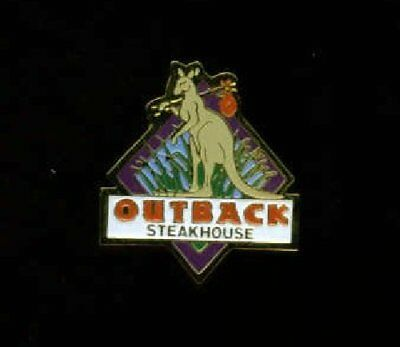 Outback Steakhouse HOBO ROO hat / lapel pin. Only 2 left! + BONUS GIFTS