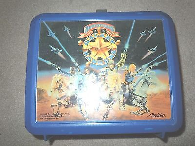Vintage 1986 Adventures Of The Galaxy Rangers Lunchbox Plastic Aladdin