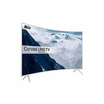 Samsung UE49KU6510 White - 49inch 4K Ultra HD Curved TV - Brand New
