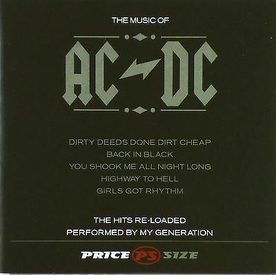 CD - My Generation - The Music Of AC/DC - The Hits Re-Loaded - #A3164