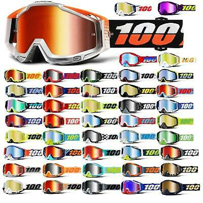 100% Prozent Racecraft Goggle Brille Verspiegelt DH MTB MX Downhill Mountain