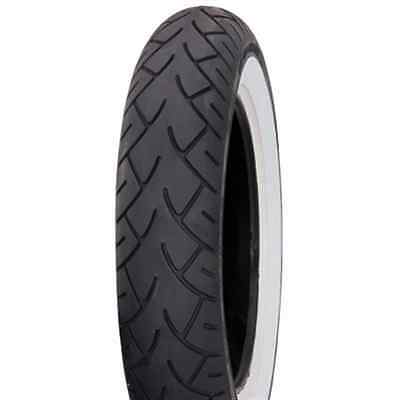 MT90B-16 (72H) Metzeler ME880 Wide White Sidewall Front Motorcycle Tire