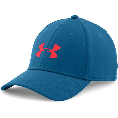 Under Armour Headline Stretch Fit Cap Basecap Mütze Kappe heron red 1242627-480