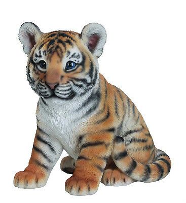 Vivid Arts - REAL LIFE ZOO ANIMALS - Sitting Tiger Cub