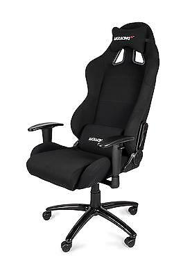 AK Racing Gaming Chair Black Perfect for office workers and gamers Fabric