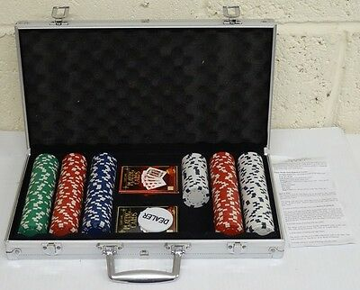 ProPoker Professional 274 Chip Poker Set RRP 29.99 lot B2138 9245646