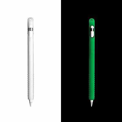 Glow In The Dark Green Silicone Case Cover For Apple Pencil Ipad Pro Stylus Pen