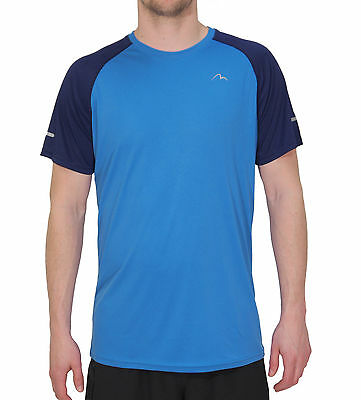 More Mile Tempest Cool Performance Junior Running Top - Blue
