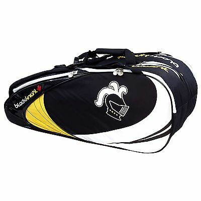 Black Knight BG639EX Tour 9 Squash Badminton Tennis & Racquetball Racket Bag