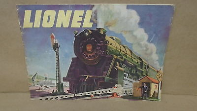 Lionel 1947 Train Catalogue Book Printed in The United States