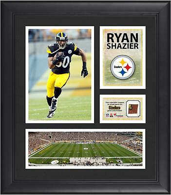 Ryan Shazier Pittsburgh Steelers Framed 15x17 Collage with Game Football