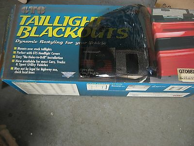 Chevy S-10,gmc S-15,94-99 Isuzu, Gt Styling Taillight  Covers (Carbon Fiber)