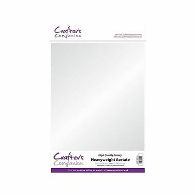 Crafter's Companion Craft A3 Heavyweight 250micron Acetate (10 sheets)