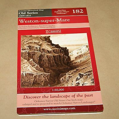 Weston Super Mare 1809-1833     Map 182    Old Series Historical Map
