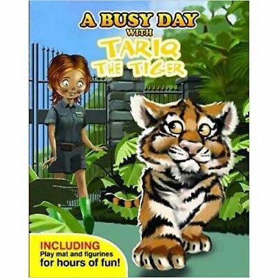 A Busy Day With Tariq the Tiger  - book, figures & play mat