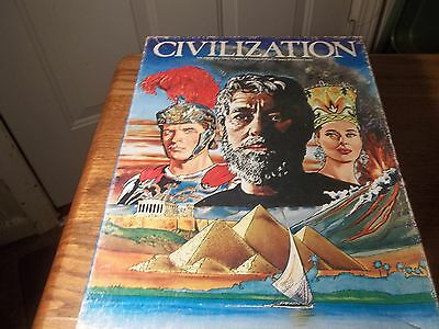 Civilization by Avalon Hill -            Very Clean, Very Good Condition