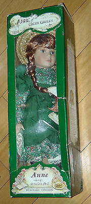 ANNE of Green Gables Heritage Edition Porcelain Doll, AvonleaTraditions, 17""