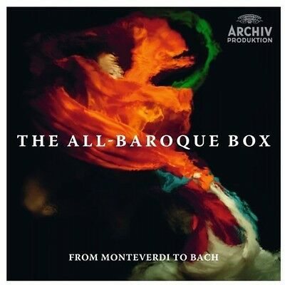 Various Artists - All-Baroque Box: From / Various [New CD] Ltd Ed, Boxed Set