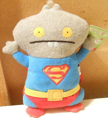 "DC Comics Uglydoll Babo as Superman Plush Toy 11"" Gund New with Tags (2013)"