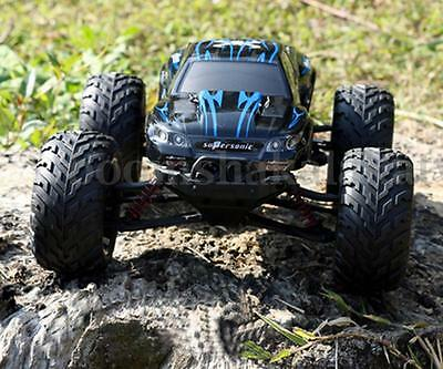 RC CAR 2.4Ghz High Speed Off Road Buggy Remote Control Racing Truggy BLUE Toys