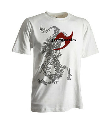 Ju-Sports Dark-Line T-Shirt Ryuu weiß - Kampfsport-Shirt - Martial Arts