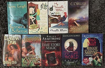 9 x PARANORMAL Romance Novel Bundle | Bulk Lot ~ Leigh, Armstrong, Ashley++