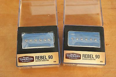 REBEL 90 NECK BRIDGE oder SET R90 BUCKER HANDBUILT  TONERIDER ALNICO II P90