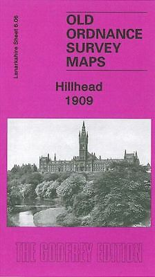 Old Ordnance Survey Map Hillhead 1909