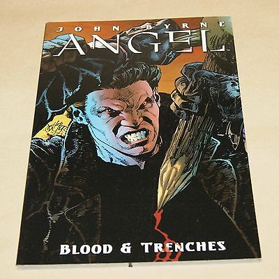 2 x Angel Graphic Novels - Blood & Trenches / Not Fade Away