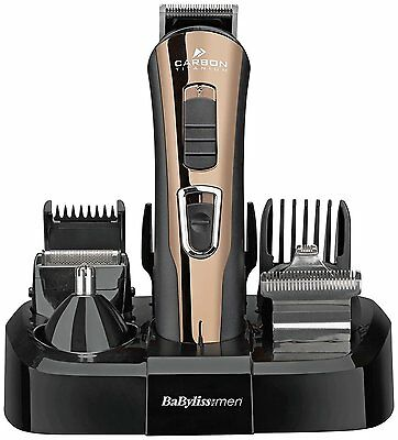 BaByliss 7425U Carbon Titanium Ultra Sharp Trimmer Kit - With 8 Attachments